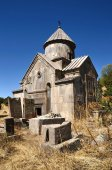 Armenia, Tsahats-kar monastery, the church of 10 century — Zdjęcie stockowe