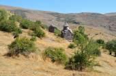 Ermenistan, tsahats-kar manastır, kilise 10 yüzyıl — Stok fotoğraf
