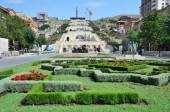 Armenia, the sights of Yerevan, Cascade — Stock Photo