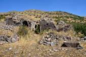 Armenia, Tsahats-kar monastery, ruins of 5-7 century — Stock Photo
