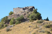 Armenia, fortress Smbataberd high in the mountains, 5th century, rebuilt in the 14th century — Stok fotoğraf