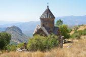 Arménie, tsahats-kar klášter, kostel 10 století — Stock fotografie