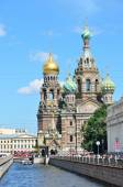 St. Petersburg,  channel of Griboedov, the cathedral Spas on the Blood — Стоковое фото