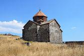 The 9th century Armenian monastery of Sevanavank at lake Sevan. — Stock Photo