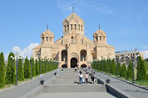 Cathedral of Gregory the Enlightener in Erevan — Fotografia Stock