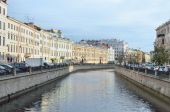 St. Petersburg, rivers and channels — Stock Photo