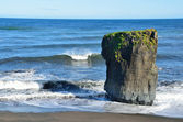 Iceland, the cliff on the Atlantic ocean — Stock Photo