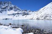 Nepal, Himalayes, Gokio lake — Stock Photo