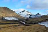 Iceland, riolit  mountains — Stock Photo