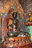 Tibet, Gyandze, a Buddhist monastery Pelkor Chode, the 15th century , Buddha — Stock Photo