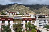 Tibet, Lhasa, ancient Buddhist monastery Sera, the 15th century — Stock Photo