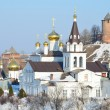 The Church of Elijah the Prophet and the Kremlin. Nizhny Novgorod, Russia — Stock Photo #66921927