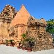 The temple complex Po Nagar, Ponagar Cham tower. Nha Trang. Vietnam — Stock Photo #66942193