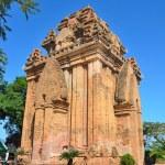 The temple complex Po Nagar, Ponagar Cham tower. Nha Trang. Vietnam — Stock Photo #66948325