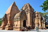The temple complex Po Nagar, Ponagar Cham tower. Nha Trang. Vietnam — Stock Photo
