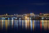 Night view for Vladivostok, Russia — Stock Photo