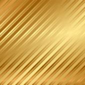 Vektor gold hintergrund mit streifen — Stockvektor