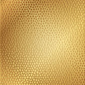 Vector gold leather texture — Stock Vector