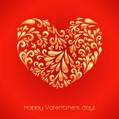 Mutlu sevgililer günü. — Stok Vektör
