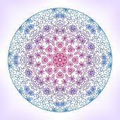 Mandala. — Stockvector