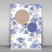 Broshure cover design. — Wektor stockowy
