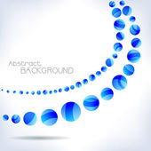 Blue abstract wave. — Stock Vector