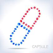 Capsule. — Stock Vector