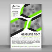 Business flyer. — Stock Vector