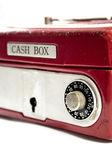 Coffret-caisse rouge — Photo