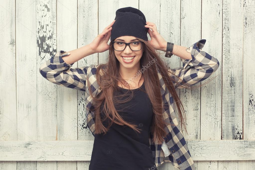 Apologise, Girl with beanie and glasses porn something is