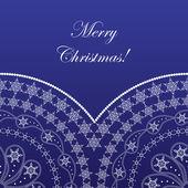 Elegant christmas card — Stock Vector