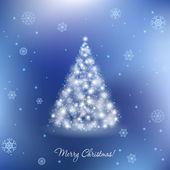 Elegante kerstkaart — Stockvector