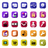 Icons set. — Stock Vector