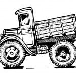 Vintage truck — Stock Vector #57323091