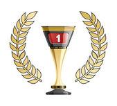 Racing prize grunge — Stock Vector