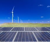 Sustainable clean energy — Stock Photo