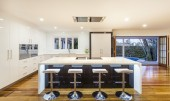 Ultra modern kitchen — Stock Photo