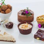 Mixed raw vegan desserts — Stock Photo #59848933