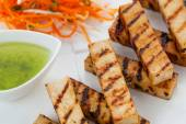 Grilled tofu — Stock Photo