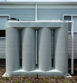 Rainwater tank — Stock Photo