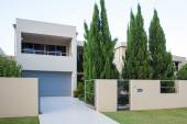 Modern home exterior — Stock Photo