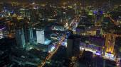 Bangkok at night — Stock Photo