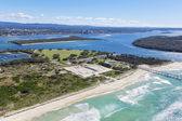 Wave Break Island and the Spit on the Gold Coast — Stock Photo