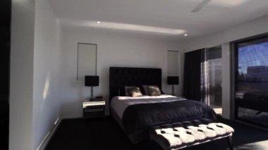 Master bedroom — Stock Video
