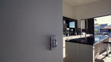 Modern kitchen — Stock Video