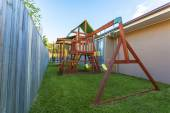 Backyard play set — Foto de Stock