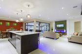 Stylish home interior — Stock Photo
