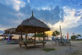 Gili Trawangan Sunset — Stock Photo