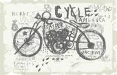 Motorcycle — Stock Vector
