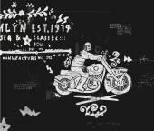 Мотоцикл — Cтоковый вектор